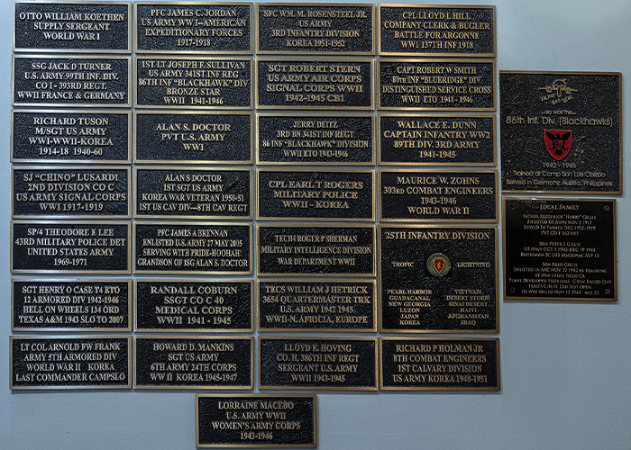 CCVMM Wall of Honor